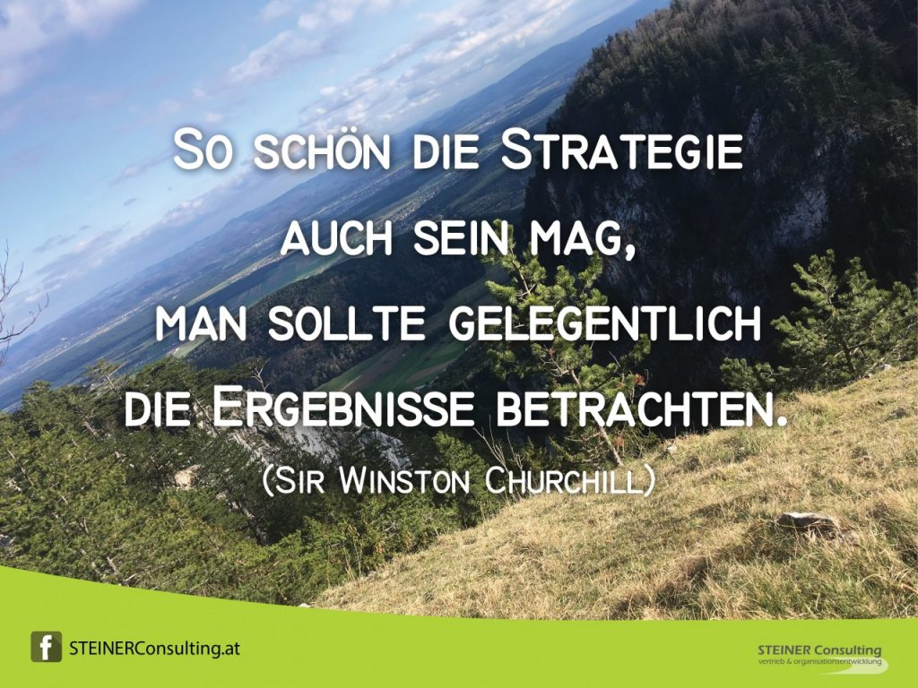Evaluiere die Strategie