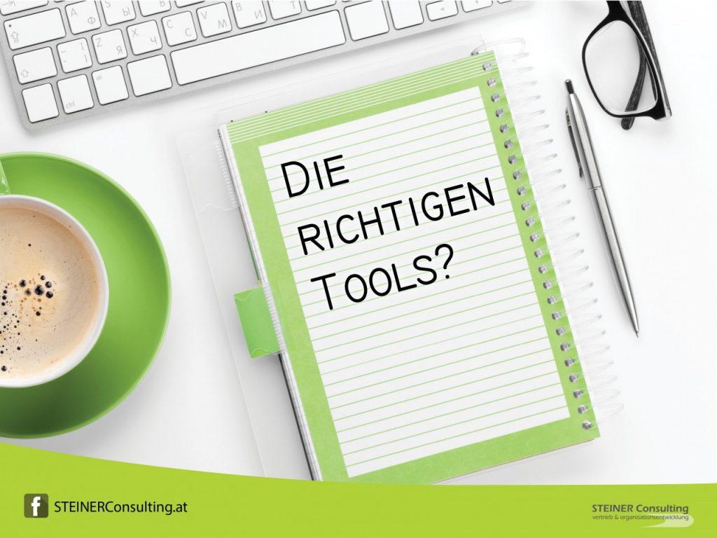 Die richtigen Tools?