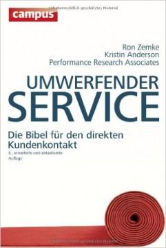 Umwerfender Service
