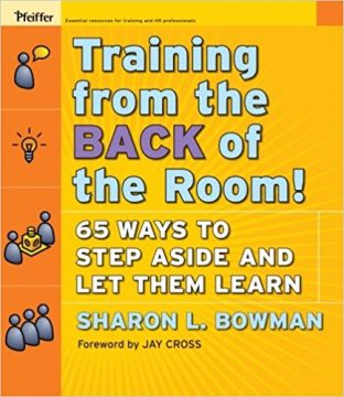 Trainings From the Back of the Room!: