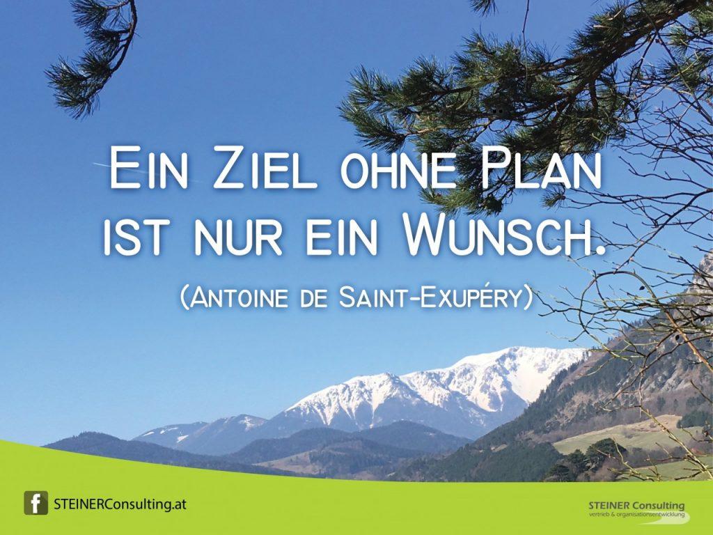 Ziele mit Plan!
